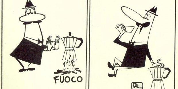 Renato Bialetti Omino coi baffi